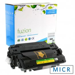 HP CE255X High Yield MICR Toner - Black